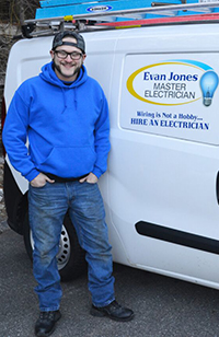 Cody Crystal | Evan Jones Master Electrician