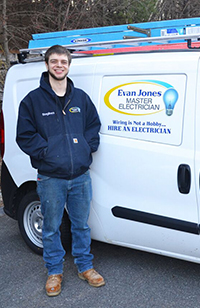 Stephen Switzer | Evan Jones Master Electrician
